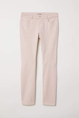 H&M H&M+ Slim-fit Pants - Pink