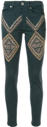Dondup beaded embellishments skinny jeans
