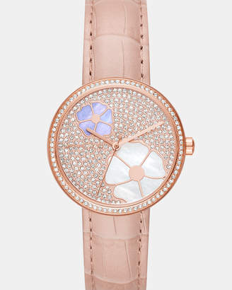 Michael Kors Courtney Pink Analogue Watch