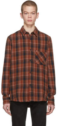 Nudie Jeans Red Check Sten Shirt