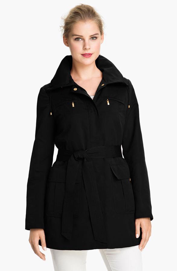 Ellen Tracy Trench Coat with Detachable Liner (Online Exclusive)
