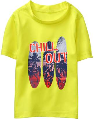 Crazy 8 Crazy8 Toddler Chill Out Rash Guard