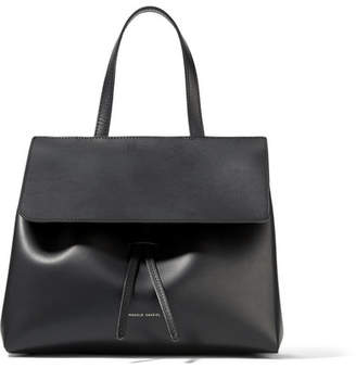 Mansur Gavriel Lady Mini Leather Tote - Black