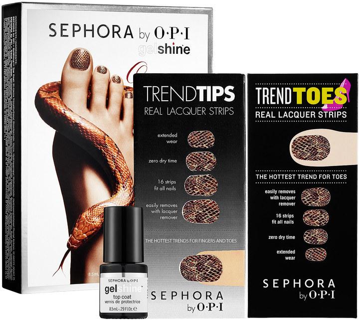 Sephora by OPI Once Bitten Gel Kit