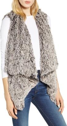 Wit & Wisdom Cascade Faux Fur Vest