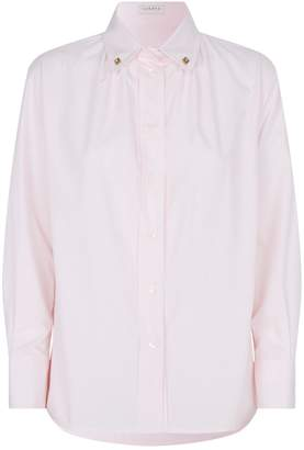 Sandro Cotton Pinstripe Shirt
