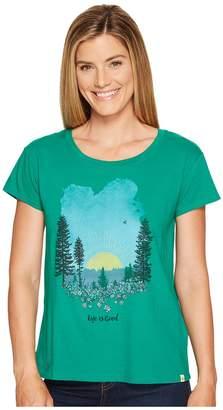 Life is Good Meadow Breezy Tee Women's T Shirt