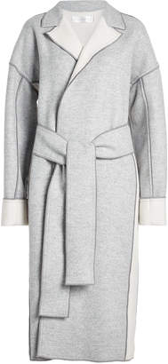 Victoria Beckham Victoria Wool Coat with Belt