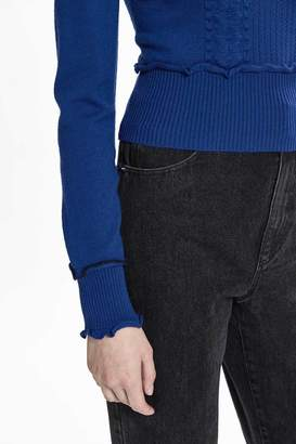 3.1 Phillip Lim Cable-Knit Turtleneck
