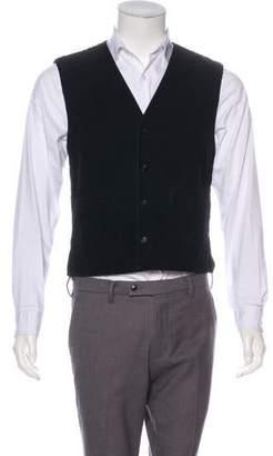 Dolce & Gabbana Corduroy Button-Up Vest