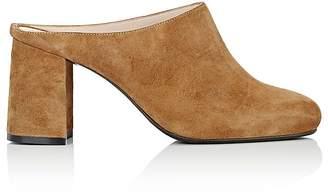 Barneys New York Women's Block-Heel Mules $275 thestylecure.com
