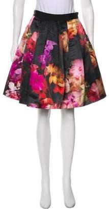 Ted Baker Pleated Knee-Length Skirt w/ Tags