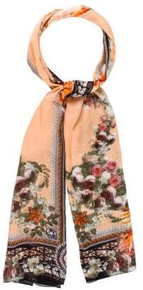 Givenchy Silk Printed Scarf