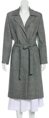 Oscar de la Renta Wool Long Coat