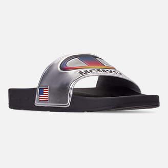 06ae9dbf40f2 Champion Men s IPO Metallic Slide Sandals