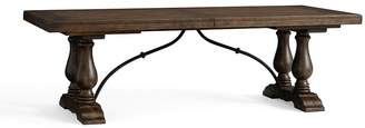 Pottery Barn Lorraine Extending Dining Table, Hewn Oak