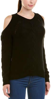 Autumn Cashmere Cotton By Cold-Shoulder Top