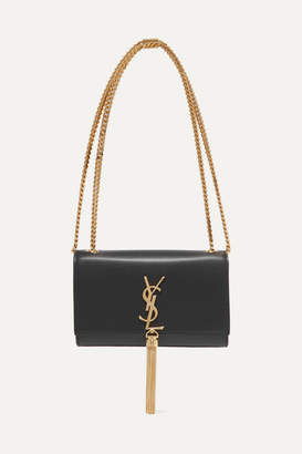 Saint Laurent Monogramme Kate Small Leather Shoulder Bag - Black