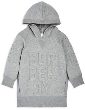 Burberry Girls' Aurora Logo Sweatshirt Dress - Little Kid, Big Kid
