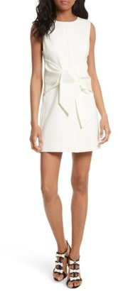 Women's Ted Baker London Papron Tie Front Dress $229 thestylecure.com