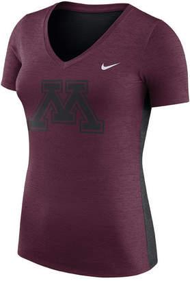 Nike Women's Minnesota Golden Gophers Dri-Fit Touch T-Shirt
