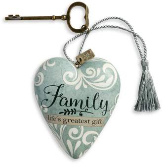 Demdaco Family Life's Great Gift Art Heart Ornament