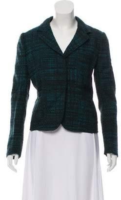 Prada Virgin Wool Tweed Button-Up Jacket w/ Tags