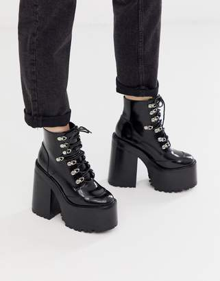 Jeffrey Campbell Fernrock Extreme chunky Heel Boot