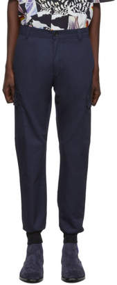 Paul Smith Navy Military Trousers