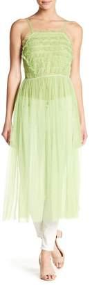 Romeo & Juliet Couture Ruffle Accent Mesh Dress