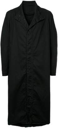 Julius standing collar long coat