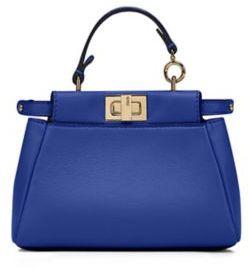 Fendi Peekaboo Micro Leather Satchel $1,550 thestylecure.com