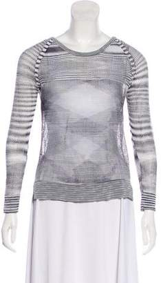 fa5e4c9dcb054 Pre-Owned at TheRealReal · Rag   Bone Scoop Neck Long Sleeve Top