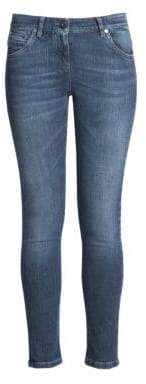 Brunello Cucinelli Whiskered Skinny Jeans