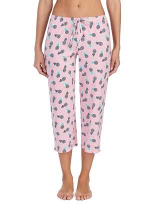 Jockey Women's Printed Crop Pajama Pants