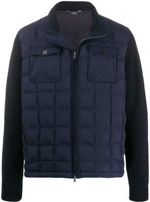 Hackett contrast padded jacket