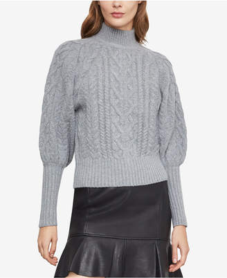 BCBGMAXAZRIA Bubble-Sleeve Sweater