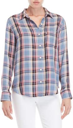 Levi's Plaid Boyfriend Fit Pocket Shirt