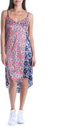 KUT from the Kloth Calah Block Print High/Low Dress