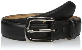 Nocona Belt Company Belt Co. Men's Black Dress Shinny Buckle 28