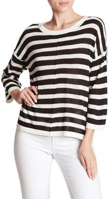 Mo:Vint Striped 3/4 Sleeve Sweater