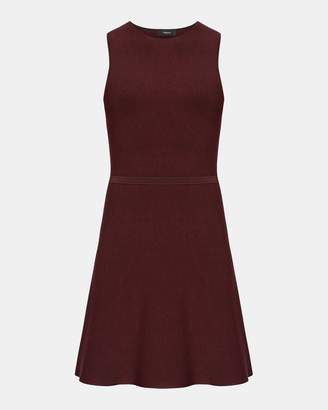 Theory Marled Flare Dress