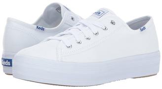 Keds - Triple Kick Canvas Women's Lace up casual Shoes $55 thestylecure.com