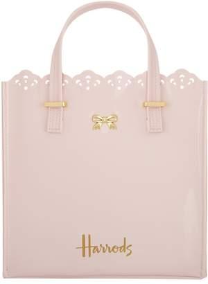 Harrods Vintage Lace Shopper Bag