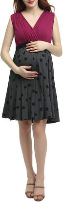 Kimi and Kai Riley Maternity/Nursing Babydoll Dress