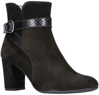 705f0694313a at John Lewis and Partners · Carvela Comfort Rocky Block Heeled Ankle Boots