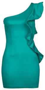 AX Paris One Shoulder Frill Dress