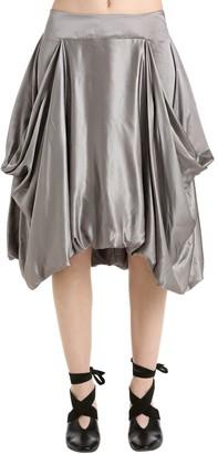 J.W.Anderson Asymmetric Satin Skirt
