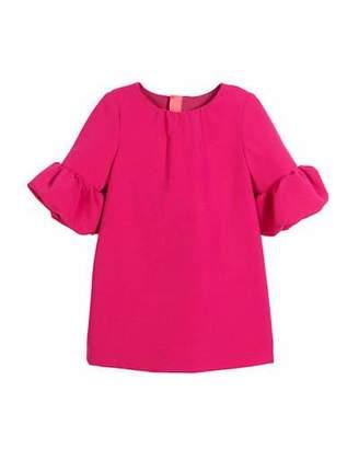 Milly Minis Mandy Italian Cady Dress, Size 8-16