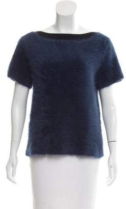 Louis Vuitton Wool & Cashmere-Blend Top